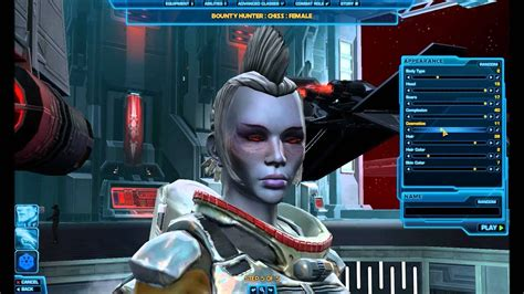 Star Wars: The Old Republic HD Character Creation: Chiss