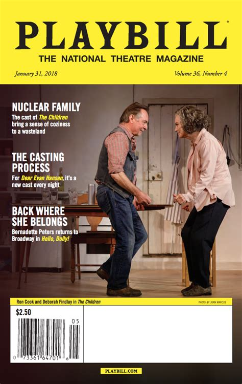 Playbill Magazine Subscription - 1 year: 12 issues (USA