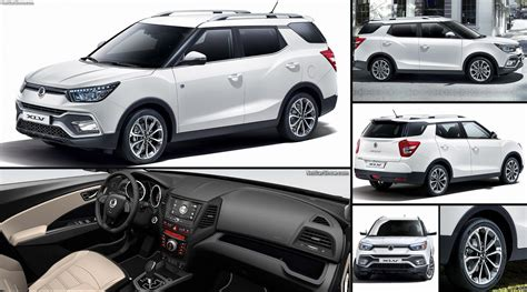 SsangYong Tivoli XLV (2017) - pictures, information & specs