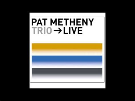 Pat Metheny — The Bat — Listen, watch, download and