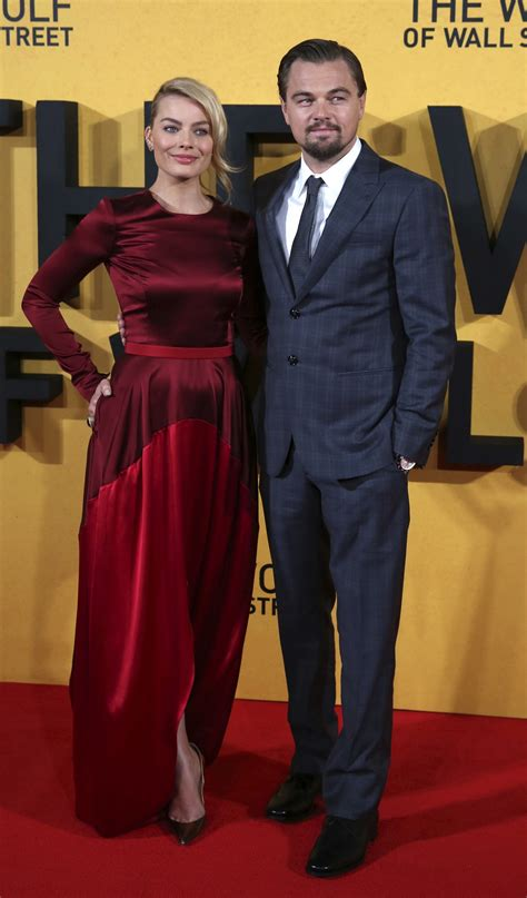 The Wolf Of Wall Street UK Premiere: Leonardo DiCaprio and