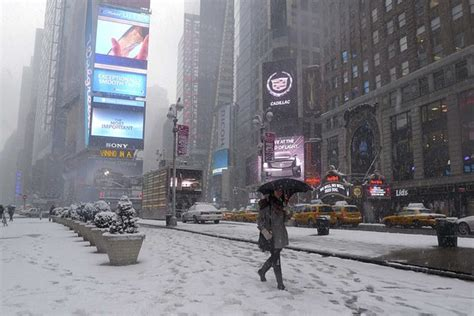 Weather Journal: New York's Night of the Thundersnow